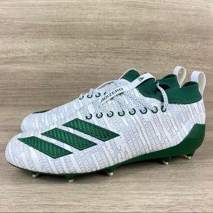 Adidas Men's Adizero 8.0 Football Cleats White